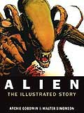 Alien, The Illustrated Story-edited by Archie Goodwin cover